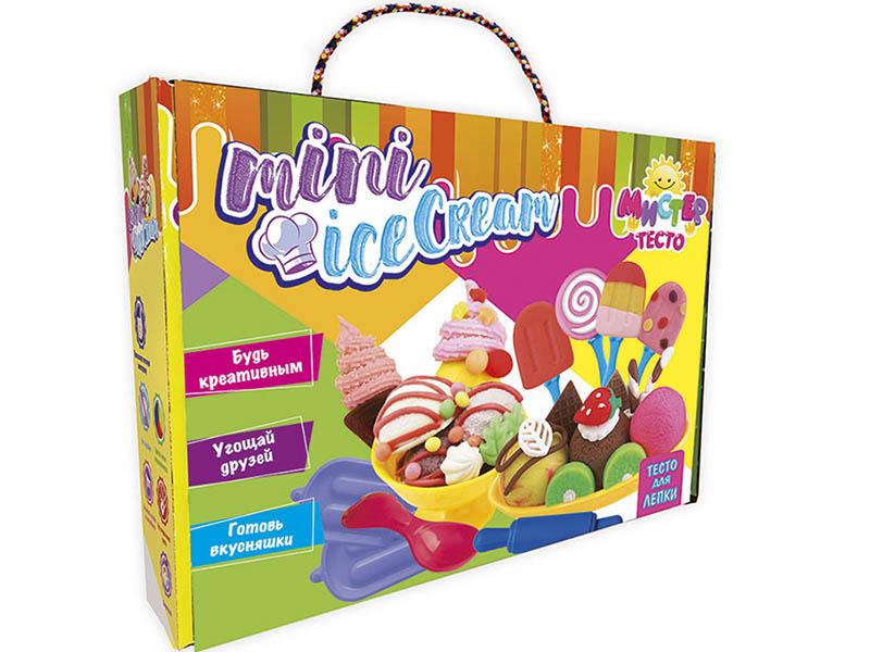 Набор для лепки Strateg Мистер тесто - Mini Ice Cream 71202