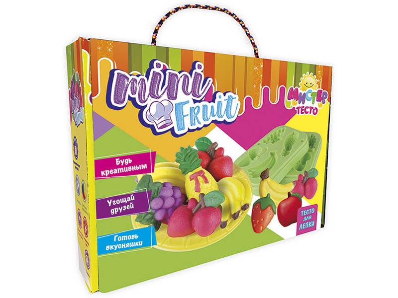 Набор для лепки Strateg Мистер тесто - Mini Fruit 71201
