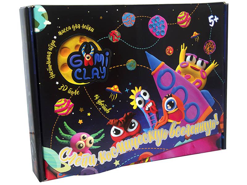 Набор для лепки Strateg Gumi Clay 14 цветов 71805