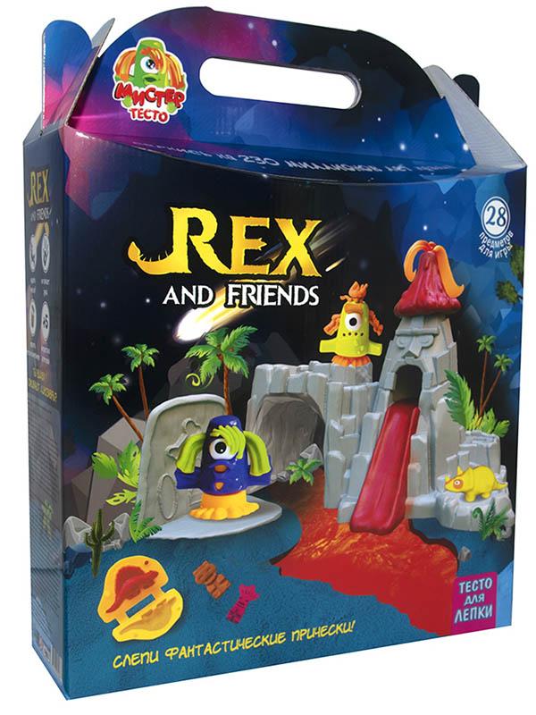Набор для лепки Strateg Rex and Friends 71506