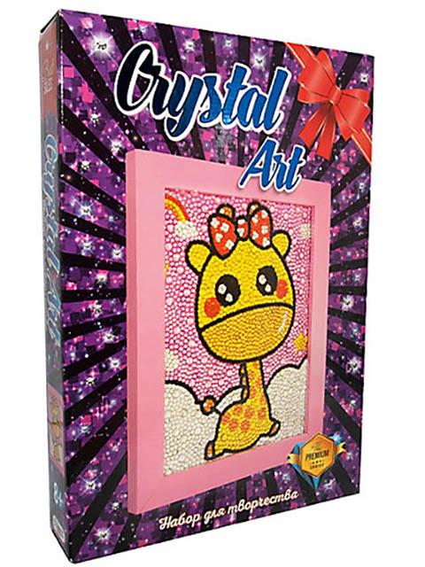 Набор для творчества Strateg Crystal Art Жираф 103