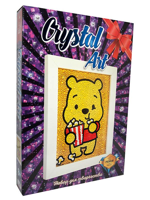 Набор для творчества Strateg Crystal Art Медвежонок 101