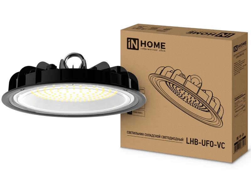 Светильник In Home LHB-UFO-VC 100W 230V 5000K 9000Lm IP65 без пульсации 4690612033907