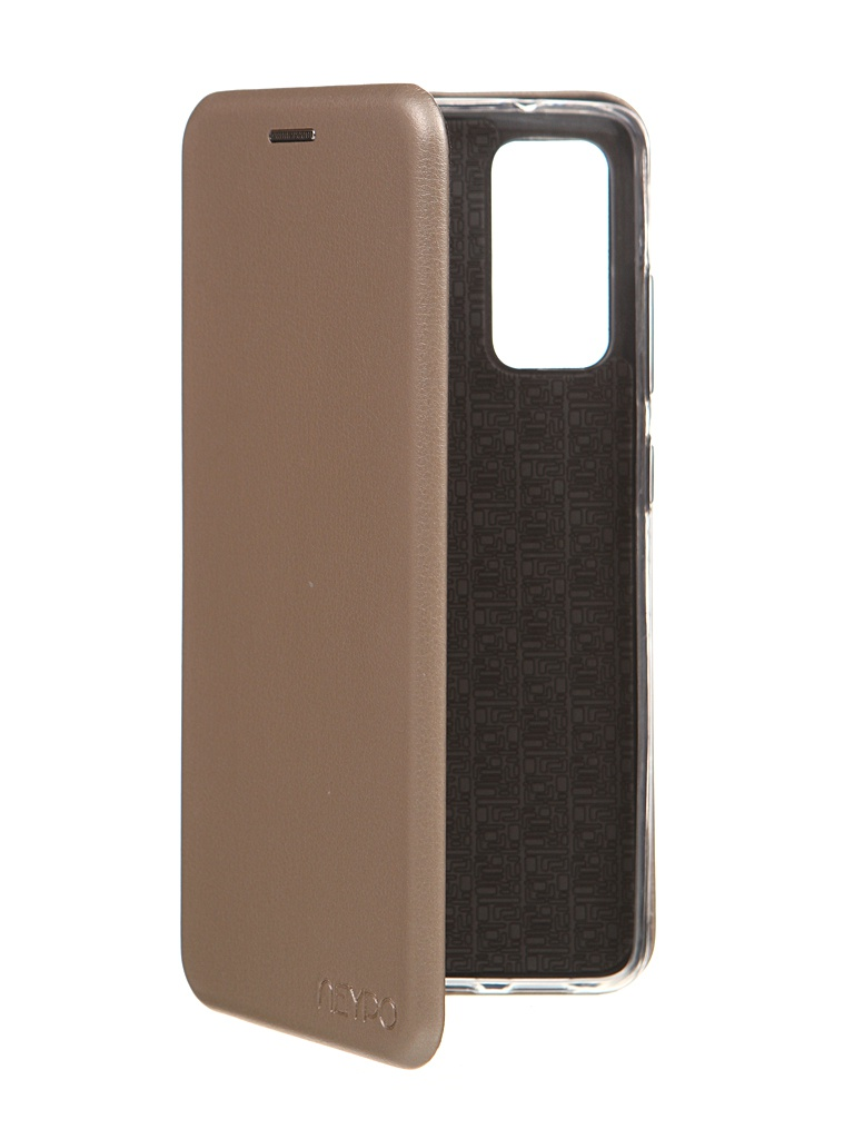 Чехол Neypo для Samsung S20FE Premium Gold NSB19251