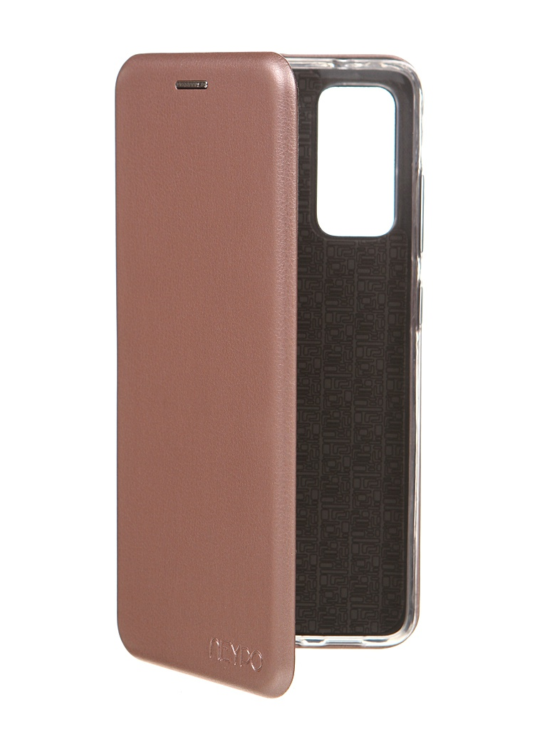 Чехол Neypo для Samsung S20FE Premium Pink-Gold NSB19254