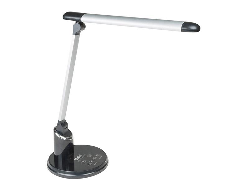 Настольная лампа Uniel TLD-517 Silver-Black 09107