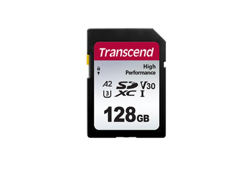 Карта памяти 128Gb - Transcend SDXC 330S TS128GSDC330S