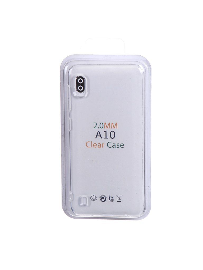 Чехол Eva для Samsung Galaxy A10 Transparent TR-A10