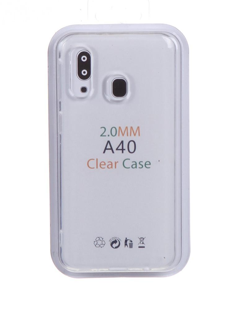 Чехол Eva для Samsung Galaxy A40 Transparent TR-A40