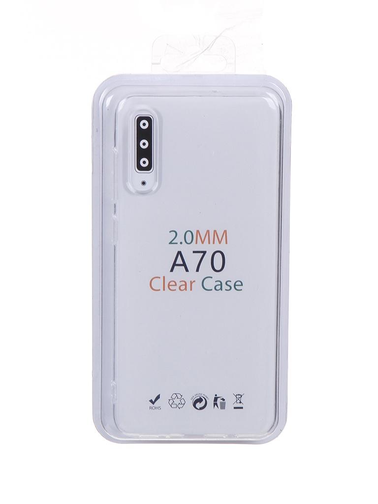 Чехол Eva для Samsung Galaxy A70 / A70S Transparent TR-A70/A70S