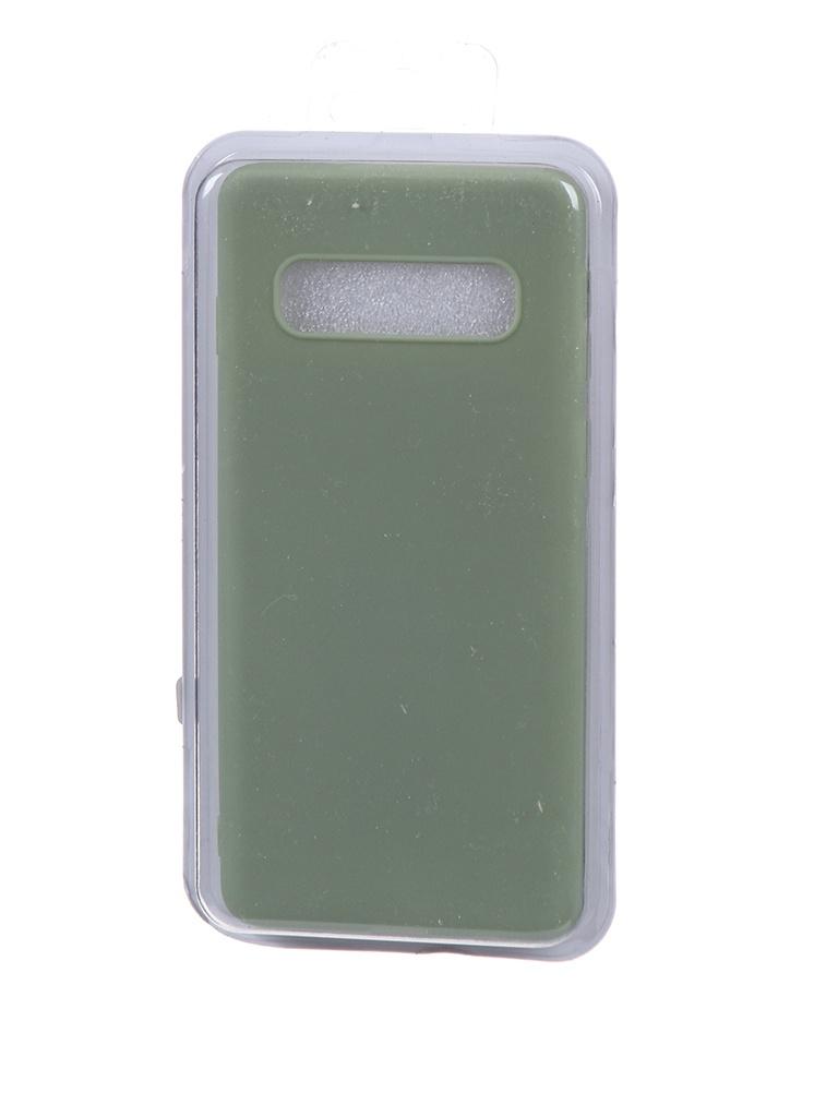 Чехол Eva для Samsung Galaxy S10 Green Khaki MAT/S10-GK
