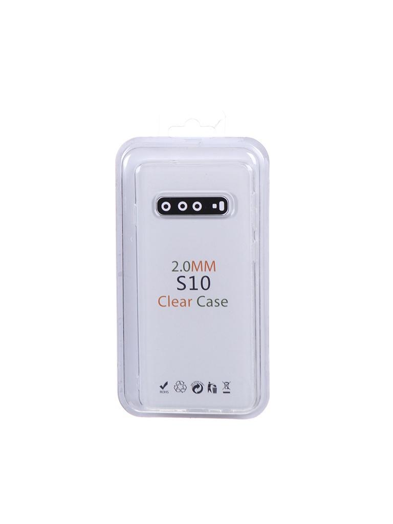 Чехол Eva для Samsung Galaxy S10 Transparent TR-S10