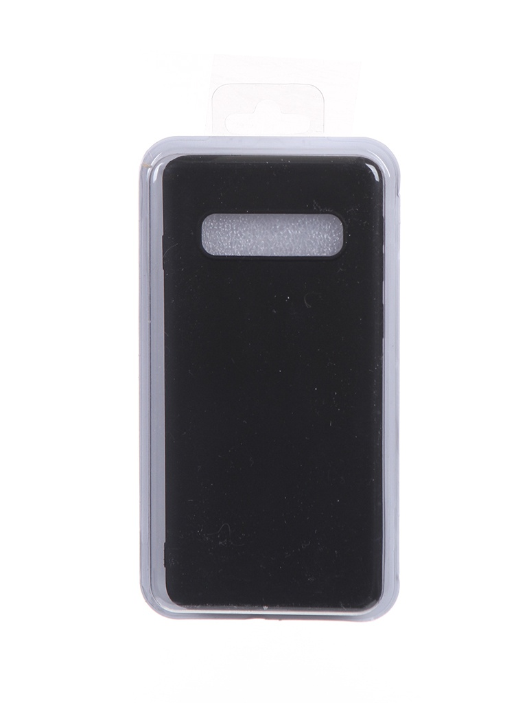 Чехол Eva для Samsung Galaxy S10 Black MAT/S10-B