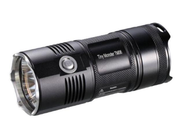 Фонарь Nitecore TM06S Black 14408