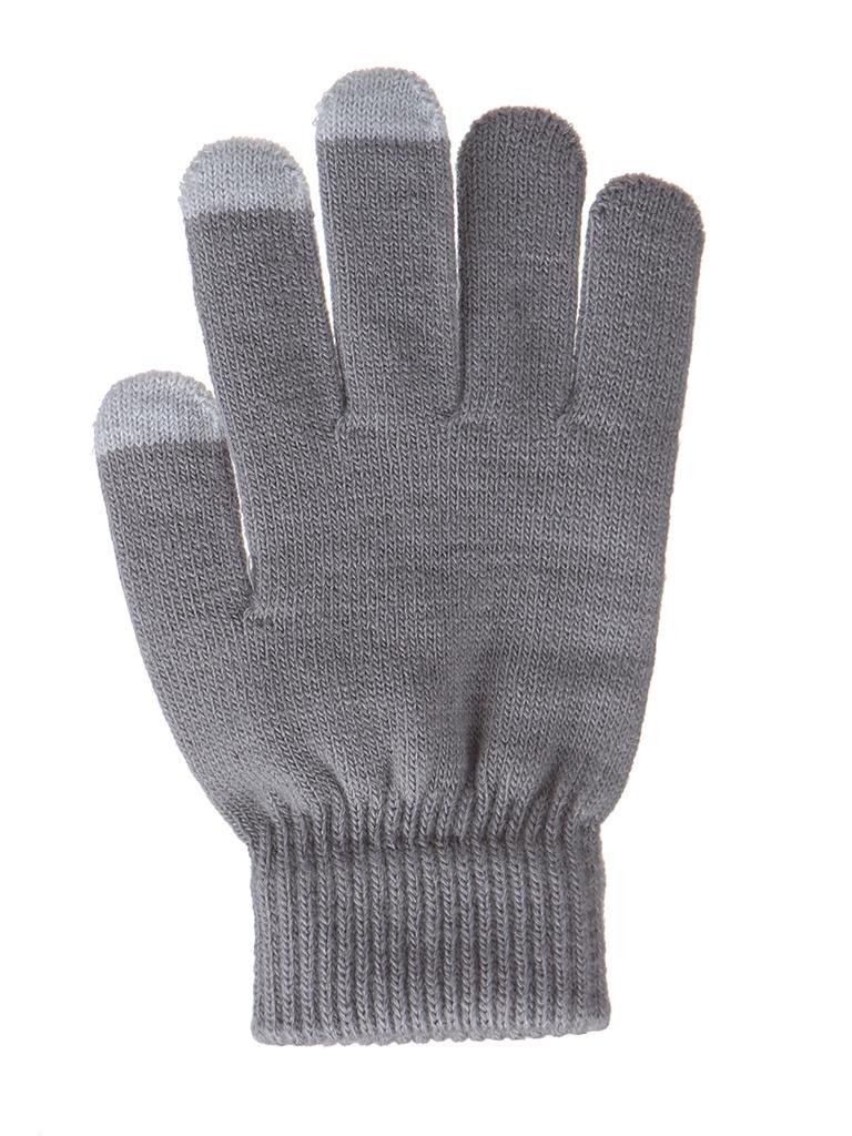 Теплые перчатки для сенсорных дисплеев Activ Grey 124444