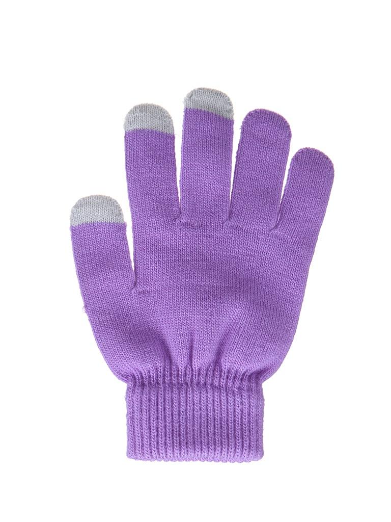 Теплые перчатки для сенсорных дисплеев Activ Purple 124443