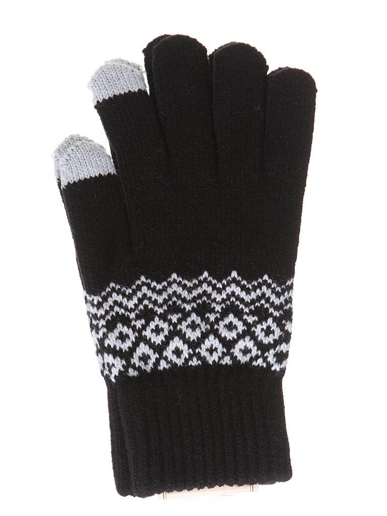 Теплые перчатки для сенсорных дисплеев Activ Fashion Black 123214