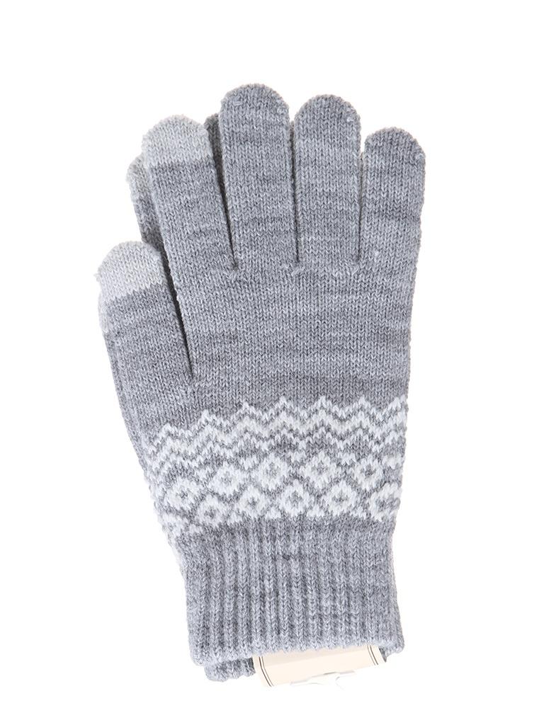 Теплые перчатки для сенсорных дисплеев Activ Fashion Light Grey 123215