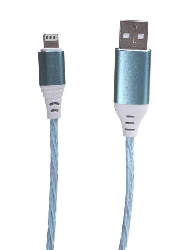 Аксессуар Activ USB - Lightning Luminous Blue 124495