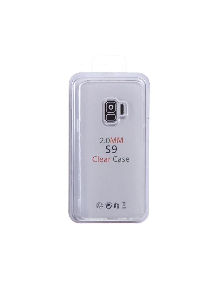 Чехол Eva для Samsung S9 Transparent TR-S9