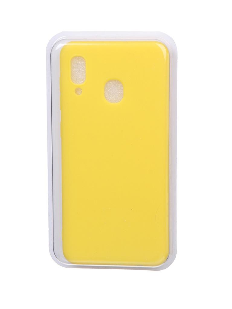 Чехол Eva для Samsung A30 / A20 Yellow MAT/A30-Y