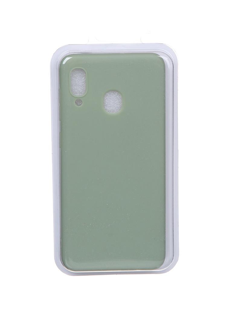 Чехол Eva для Samsung A30 / A20 Green Khaki MAT/A30-GK