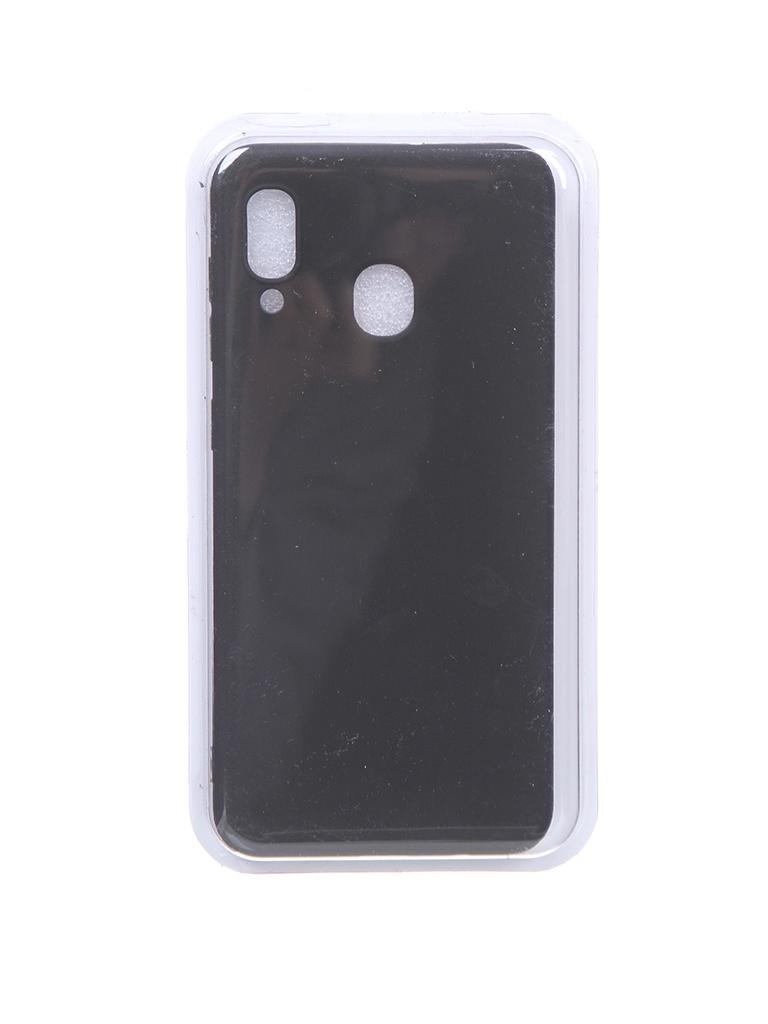 Чехол Eva для Samsung A30 / A20 Black MAT/A30-B