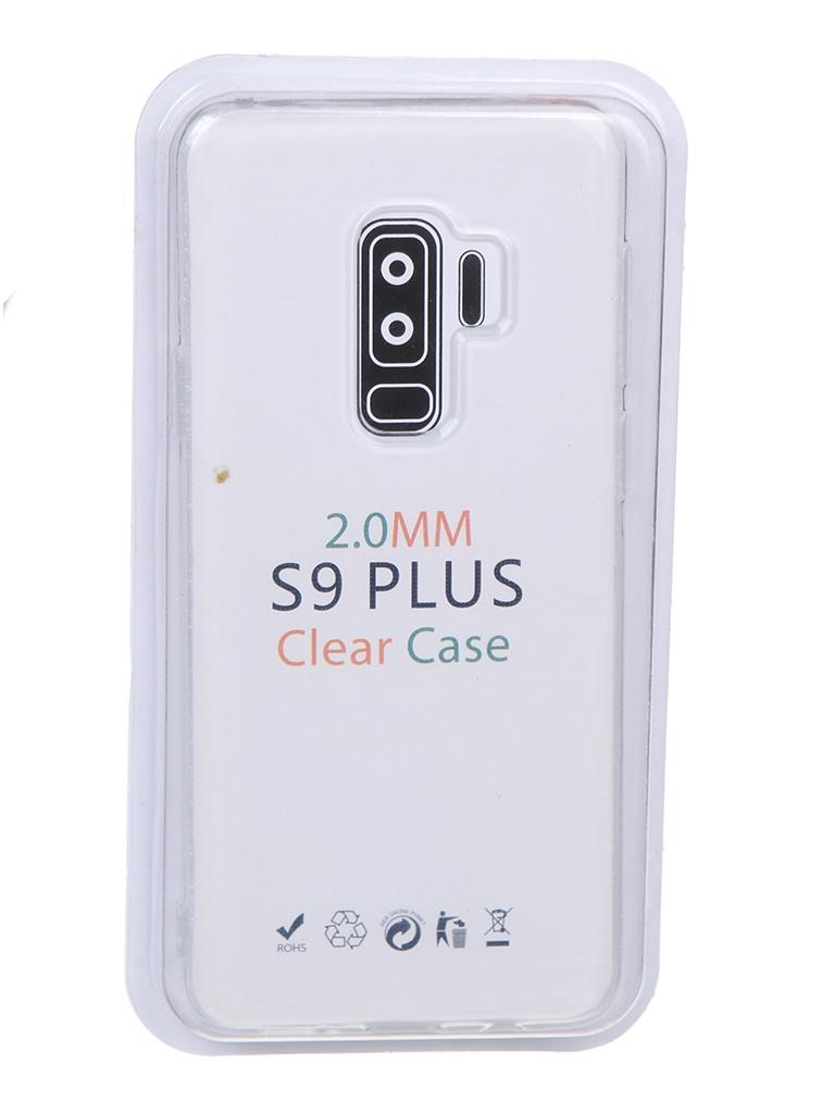 Чехол Eva для Samsung S9 Plus Transparent TR-S9P