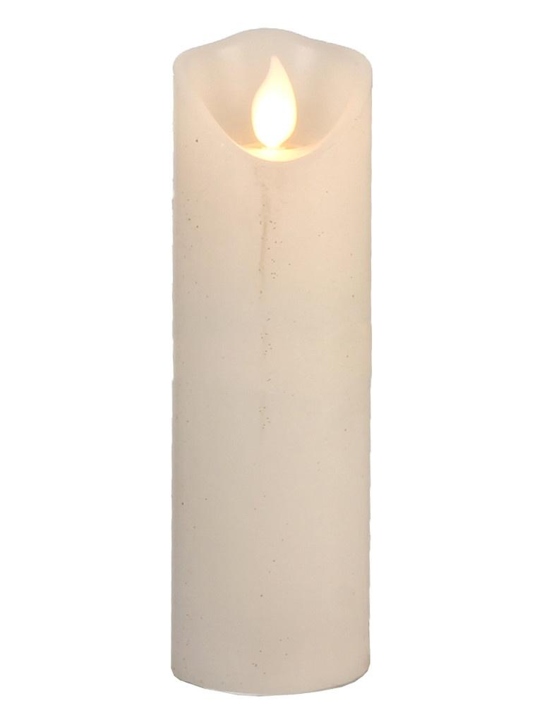 Светодиодная свеча Edelman Танцующее пламя 15х5cm White 1051777/161286
