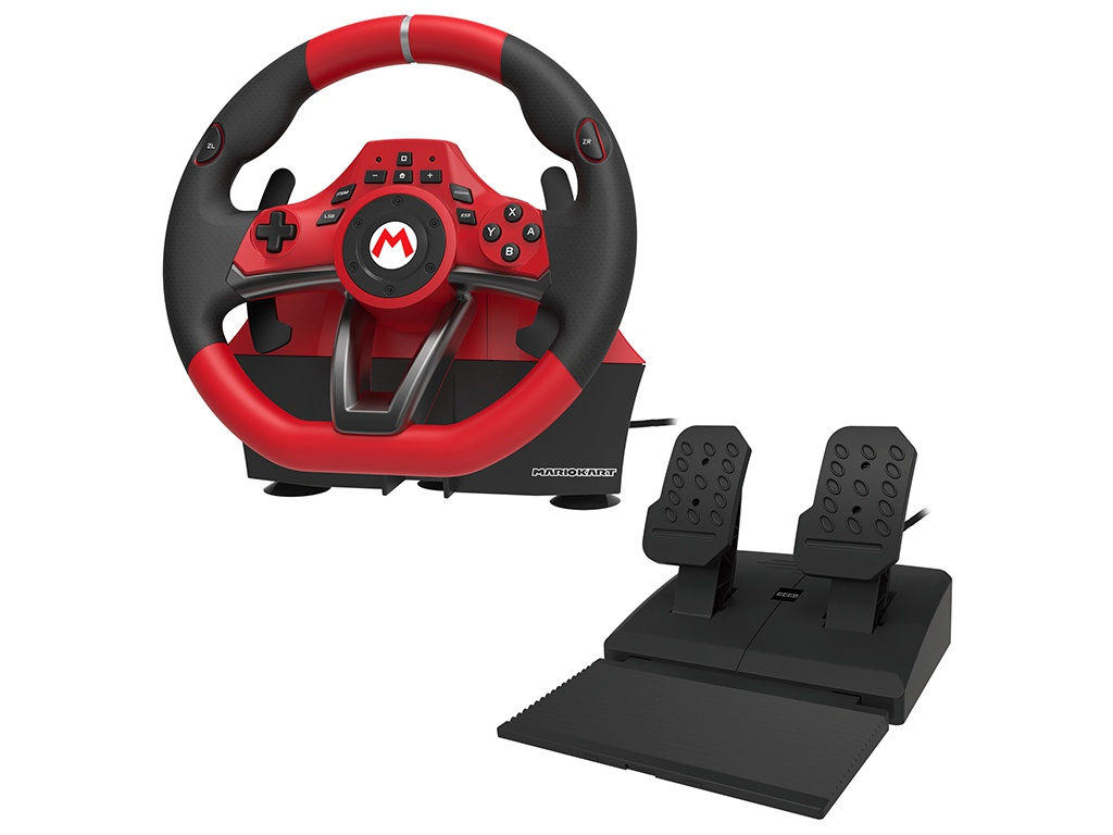 Руль Hori Mario Kart Racing Wheel Pro Deluxe NSW-228U для Nintendo Switch