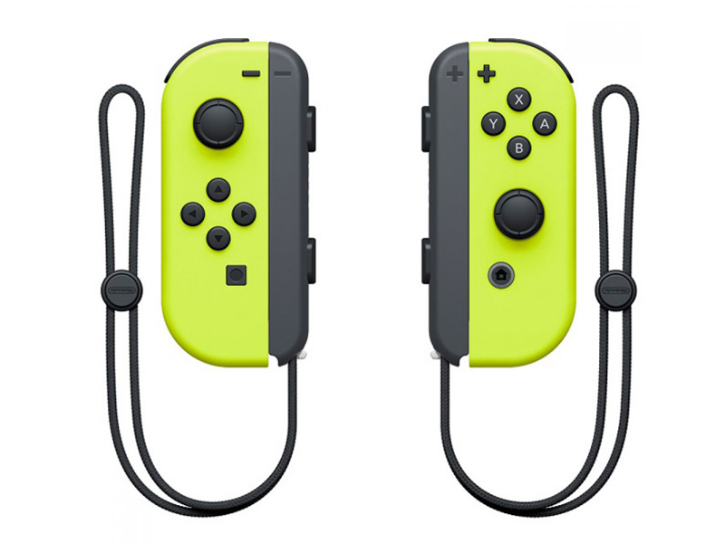 Контроллер Nintendo Joy-Con Neon Yellow ACSWT8