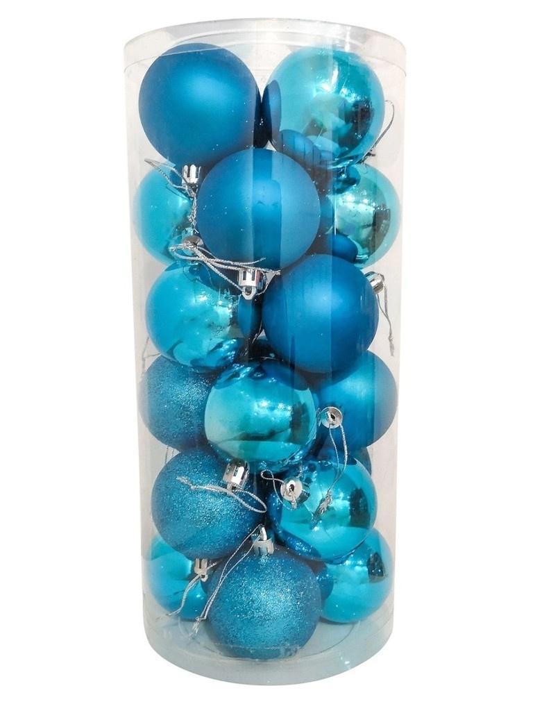Набор шаров Hangzhou 6cm 24шт Light Blue НБ-2465