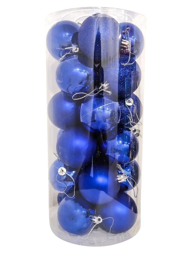 Набор шаров Hangzhou 6cm 24шт Blue НБ-2464