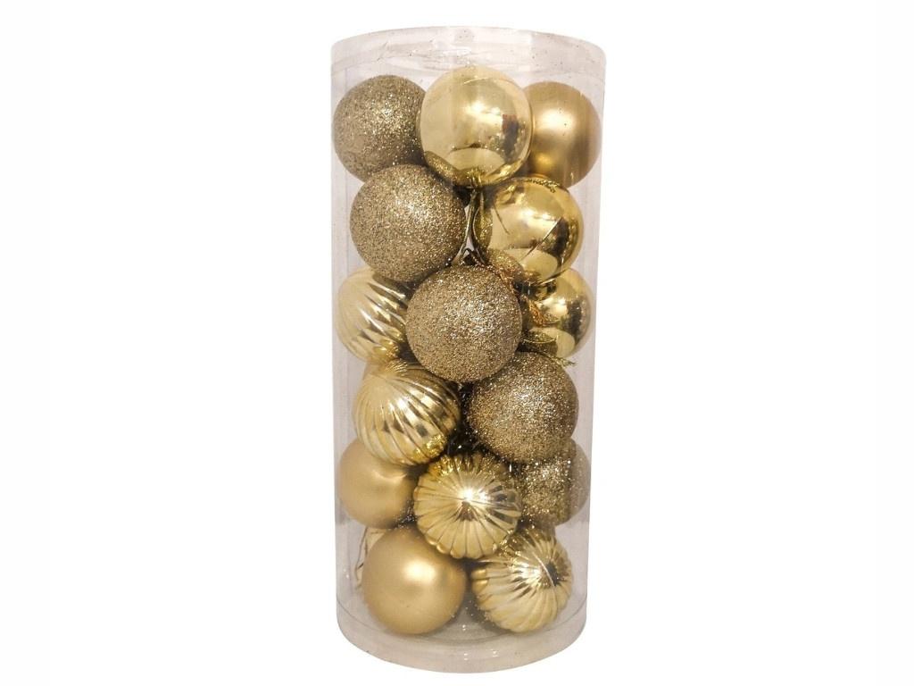 Набор шаров Hangzhou 4cm 24шт Gold НБ-2444