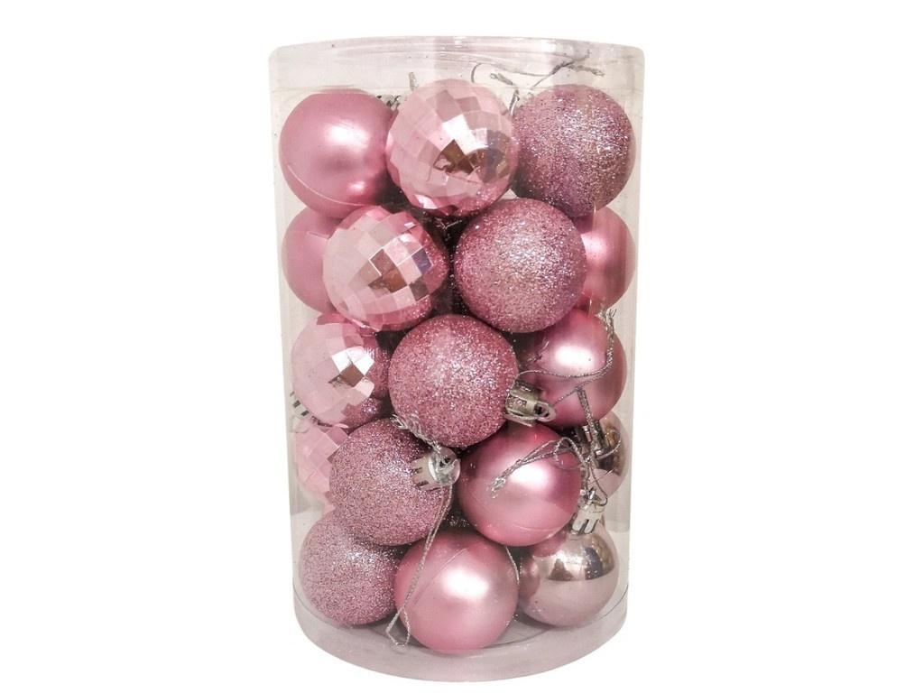 Набор шаров Hangzhou 4cm 34шт Pink НБ-3444