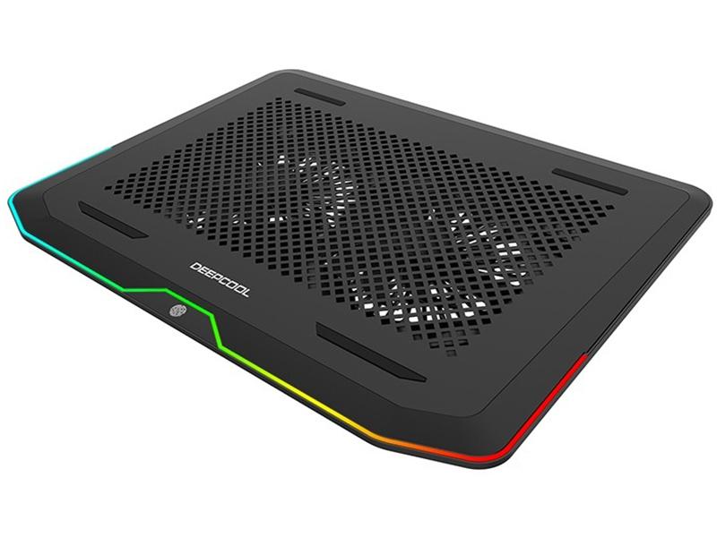 Фото - Подставка для ноутбука DeepCool N80 RGB подставка для ноутбука deepcool u pal u pal 15 6 черная
