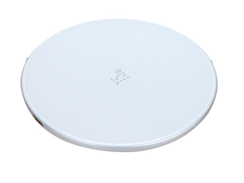Зарядное устройство Baseus Simple Wireless Charger 15W Updated Version for Type-C White WXJK-B02