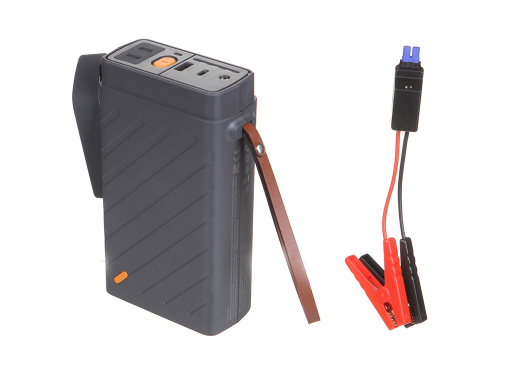 Устройство Baseus Reboost Jump Starter with Portable Energy Storage Power Supply 110V/100W Dark Grey CRJS02-B0G