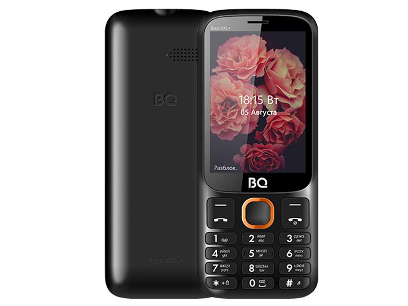 Сотовый телефон BQ 3590 Step XXL+ Black-Orange мобильный телефон bq step xxl 3590 64mb черный синий 2sim 3 5 tft 320x480