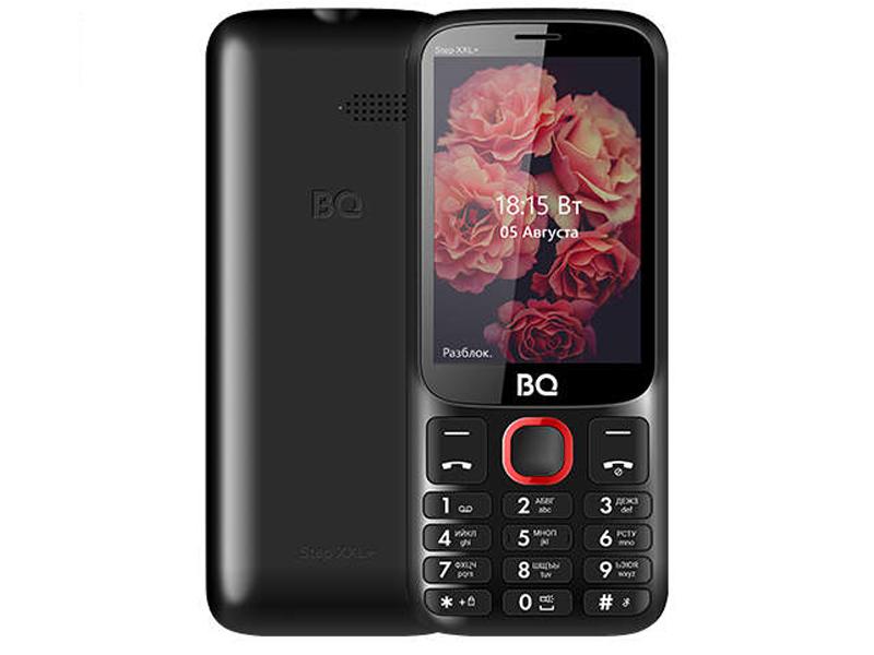 Сотовый телефон BQ 3590 Step XXL+ Black-Red сотовый телефон bq 2301 comfort red black
