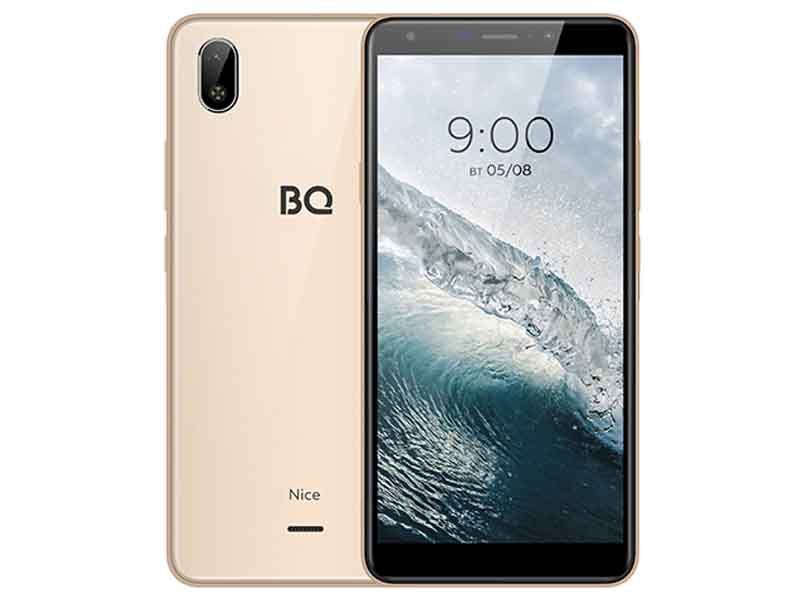 Сотовый телефон BQ 6045L Nice Gold