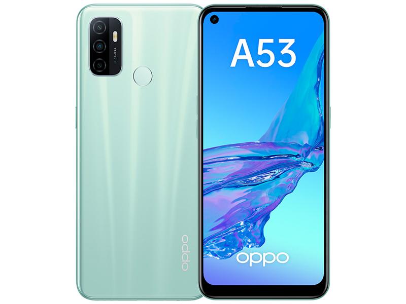Сотовый телефон Oppo A53 4/64Gb Mint Выгодный набор + серт. 200Р!!!