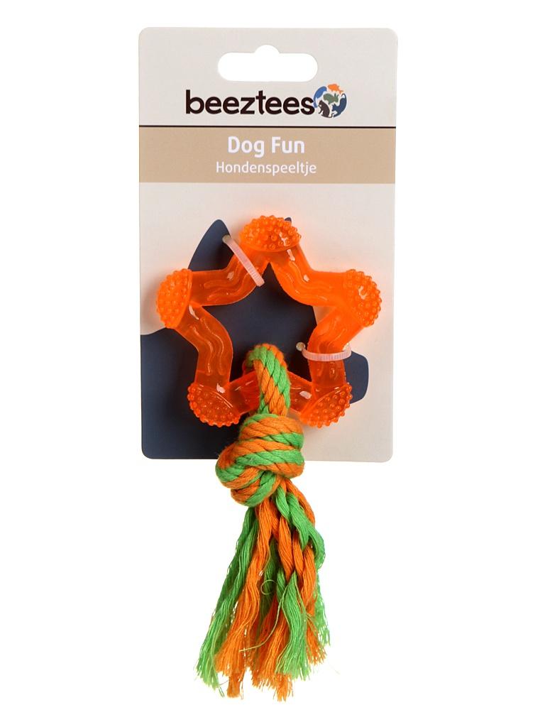 Игрушка для собак Beeztees Звезда TPR 8cm Orange 625819 / 38125.