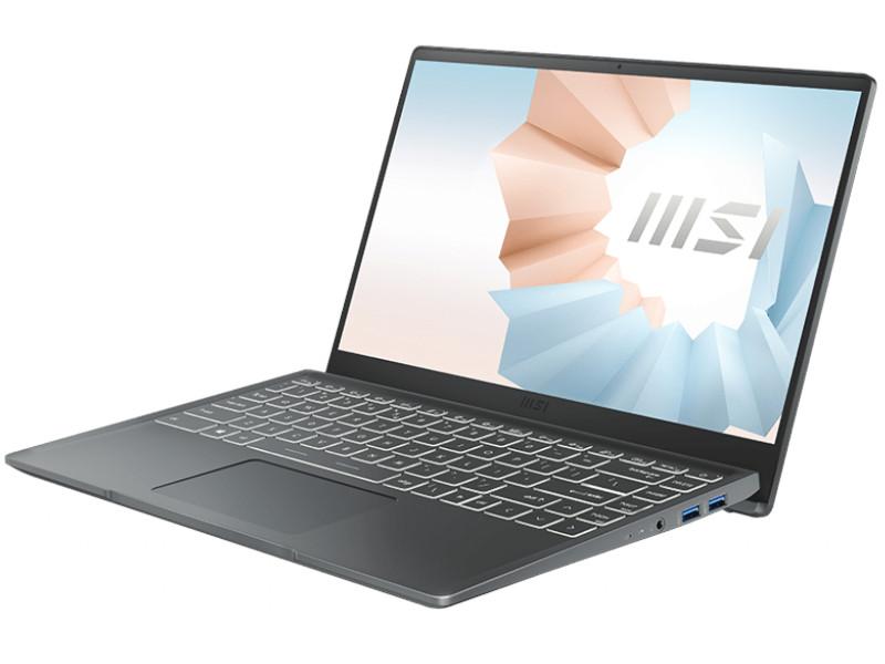 Ноутбук MSI Modern 14 B11M-034RU 9S7-14D214-034 (Intel Core i7-1165G7 2.8 GHz/8192Mb/512Gb SSD/Intel Iris Xe Graphics/Wi-Fi/Bluetooth/Cam/14.0/1920x1080/Windows 10 Home 64-bit)
