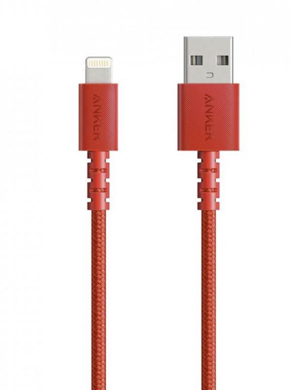 Фото - Аксессуар Anker PowerLine Select+ USB-A - Lightning 1.8m Red A8013H91 аксессуар anker powerline select usb a lightning 1 8m red a8013h91