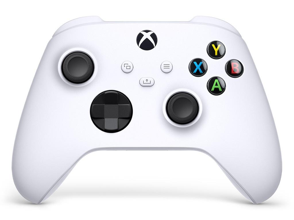 Геймпад Microsoft Xbox Robot White QAS-00002