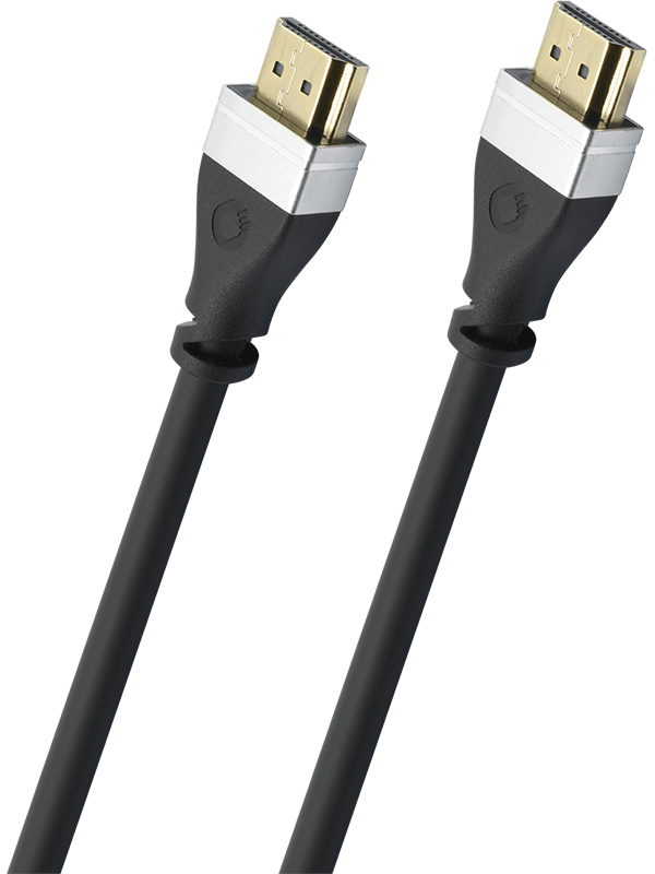 Аксессуар Oehlbach Ultra-High-Speed-HDMI 2m Black 33102