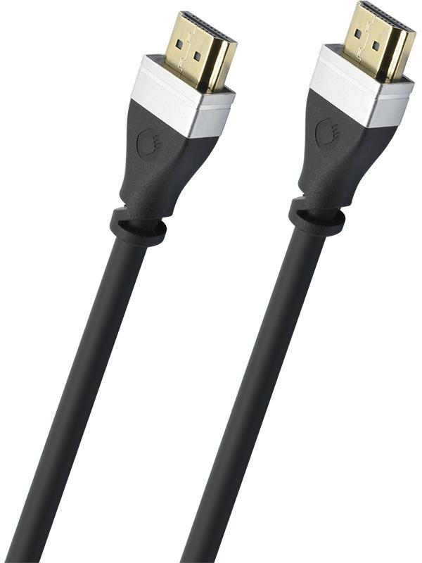 Аксессуар Oehlbach Ultra-High-Speed-HDMI 1m Black 33100