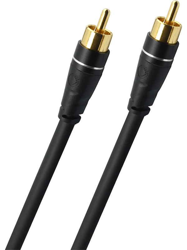 Сабвуферный кабель Oehlbach Sobwoofer Cinch Cable 2m Black 33160