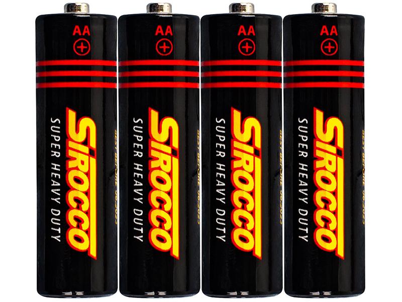 Батарейка AA - Sirocco (4 штуки) 06964